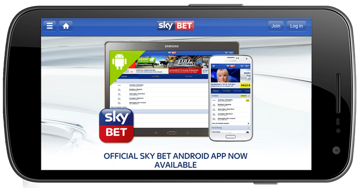 SkyBet app for Android