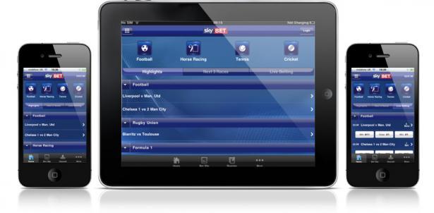 SkyBet app for iOS