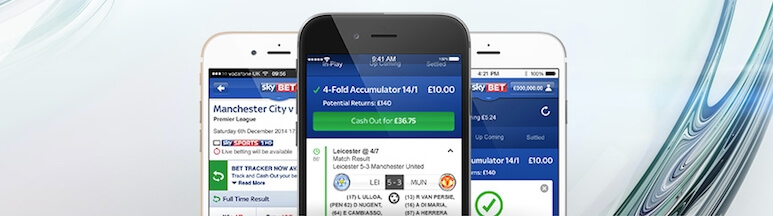 SkyBet application for iOS